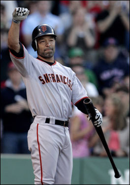 Position: Outfield Team: San Francisco Giants With two years remaining on his contract, unlikely, but why not try to steal another moment off the bench?