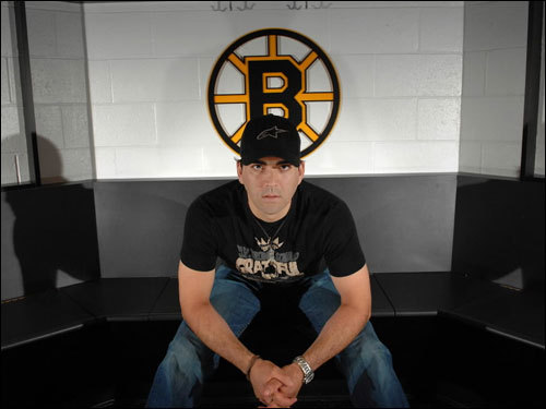 Manny Fernandez is already penciled in as the likely stopper when the Boston Bruins open the 2007-08 season in October. If the season goes to his liking, the 32-year-old backstop will be in net for 60 or more games this season. With four potential netminders on the roster -- including incumbent starter Tim Thomas -- should Fernandez be the B's No. 1 netminder? Scroll through our gallery and vote at the end.