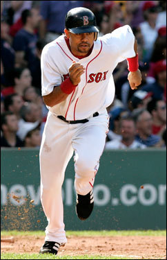 Coco Crisp killed the ball all weekend for the Red Sox. The maligned (at the plate) center fielder went 7 for 13 and drove in eight runs in three games. His average is up to .271 on the season.