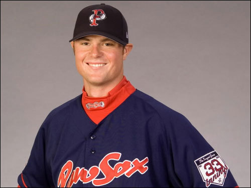 He started the 2006 season with Triple-A Pawtucket, and was rated the top prospect in the organization by the trade publication Baseball America.