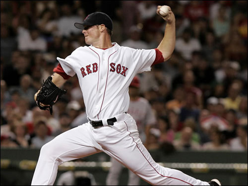 Diagnosed last August with a treatable form of anaplastic large cell lymphoma, 23-year-old Red Sox lefty Jon Lester has battled his way back to the big leagues, making his return tonight in Cleveland. We take a look at the peaks and valleys of his journey from the day he became a member of the Red Sox until now.