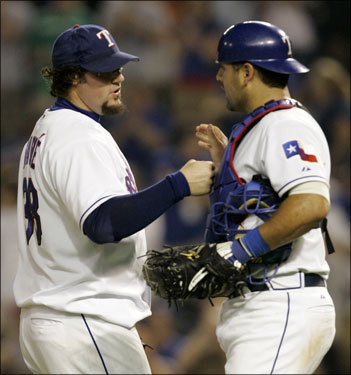 More from Epstein: 'With [Jonathan Papelbon], [Hideki] Okajima, and Gagne we have three guys who are tough to match up with. We want to get a lead and use our pitchers without overusing them.'