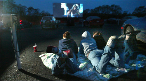 23. Head to the drive-in Drive-ins are not a thing of the past! While the weather is warm, hop in the car and trek to one of New England's remaining drive-ins for a night time flick. Bring along some beach chairs and blankets, cozy up with that special someone or a group of friends, and head back in time to an American tradition.