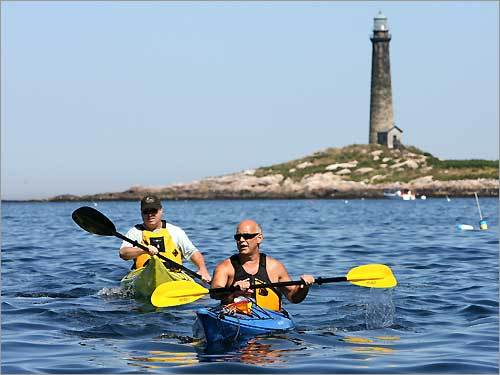18. Paddle around Hop in a kayak or canoe and give your arms a workout this summer as you paddle along some of the best rivers or waterways the area has to offer. Head to Hingham, Magnolia on the North Shore, or row around Thompson Island, one of the Boston Harbor National Park's lesser known islands. Here are 10 of the best spots to kayak in New England.