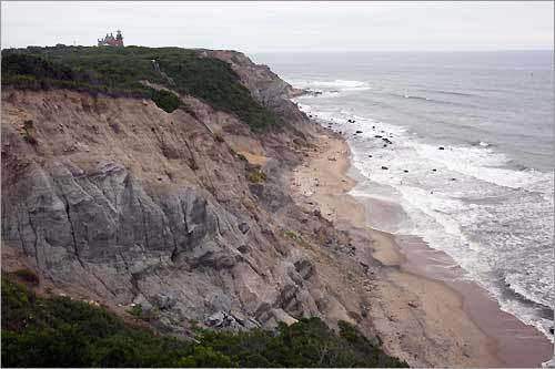 8. Head to Block Island If you aren't in the mood for the large crowds of Nantucket and Martha's Vineyard, spend a relaxing summer weekend on Block Island in Rhode Island. The island offers great outdoor adventures like hiking and biking, as well as romantic bed and breakfasts for a cozy weekend away. Check out more to do on Block Island .