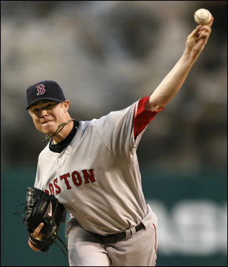 Jon Lester struggled mightily on the hill Wednesday, but the Red Sox rallied from an early three-run deficit to steal the final game of a three-game set with the Anaheim Angels. Scroll through our gallery for more scenes from last night's win, which, coupled with the Yankees' loss to Toronto, put the Sox on top by six games in the American League East.