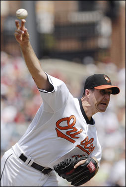 Steve Trachsel opposed Curt Schilling for the Orioles.