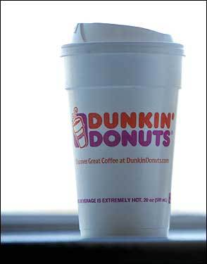 Dunkin' Donuts coffee