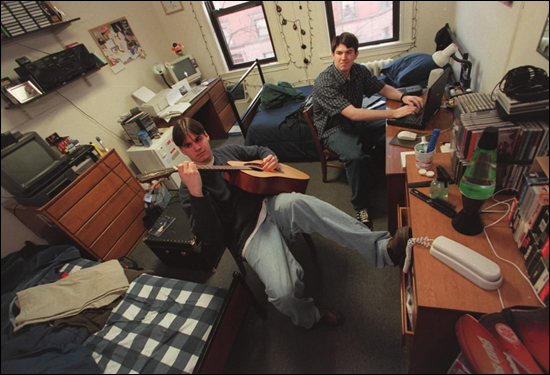 College Dorms A Retrospective Boston Com