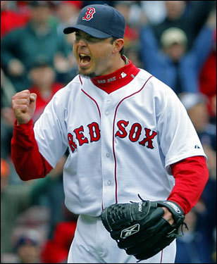 Josh Beckett is the unquestioned No. 1 starter and has had a spectacular season, leading the majors in wins with 20. Beckett's postseason credentials are not to be questioned; in 2003, he had a 2.11 ERA in the playoffs, winning the World Series MVP with the Florida Marlins. The Sox traded for him believing that he could bring that postseason magic with him. This year, he'll get the chance to deliver.