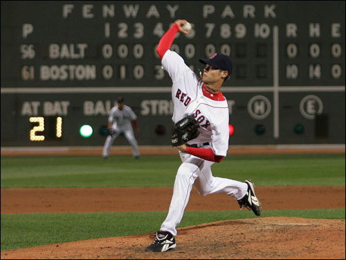 He was arguably even better in the majors. Buchholz tossed a no-hitter in his second major league start, and was stellar after that. Unfortunately, the Red Sox shut him down Friday for the rest of the season with arm fatigue, meaning Sox fans won't get a chance to see what kind of a playoff impact the young fireballer can make.