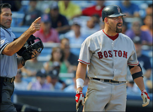 The Red Sox surely will renew acquaintances with rookie reliever Joba Chamberlain, who was suspended two games, one for each pitch he threw over the head of Kevin Youkilis in the ninth inning Aug. 30. 'I suppose they don't like me for whatever,' Youkilis said last weekend. 'I don't know. Maybe they're mad at me.'