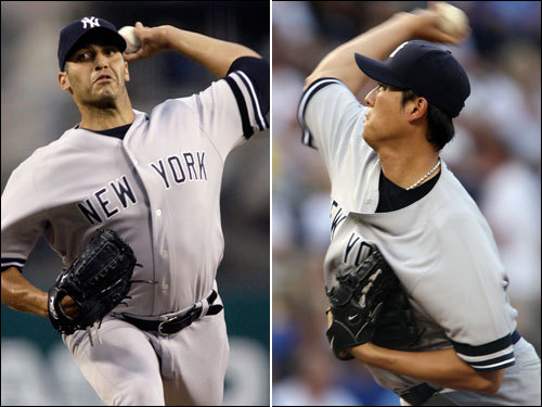 The Sox will be tested in the first two games by Andy Pettitte and Chien-Ming Wang, both 9-2 since the All-Star break.