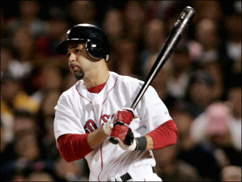 Mike Lowell stroked an RBI single in the first inning.