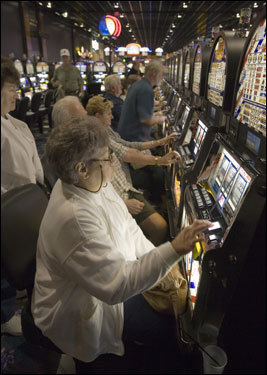In July 2004 the Pennsylvania legislature passed a law to authorize more slot machines than any state other than Nevada. Six of 11 casinos will be at horse racing facilities. So far this year more than $5 billion have been dropped into Pennsylvania slots.