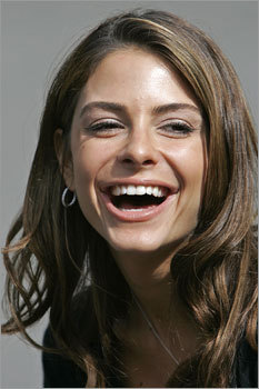 Medford native and Access Hollywood television reporter Maria Menounos was in Boston for a day on Sept. 19.