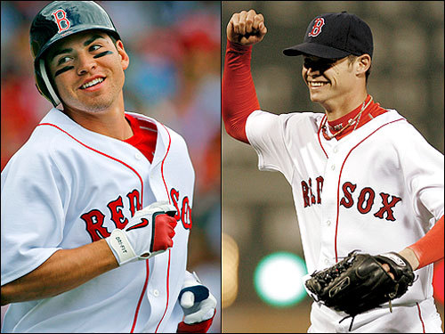 Pedroia isn't the only youngster to make an impact on this team. Jacoby Ellsbury and Clay Buchholz invigorated the Sox up down the stretch, when injuries set in and the Yankees were changing hard. Ellsbury had a hit in 22 of 25 games he's played in September, and as for Buchholz -- who can forget the no-hitter that picked up the team after four straight losses?