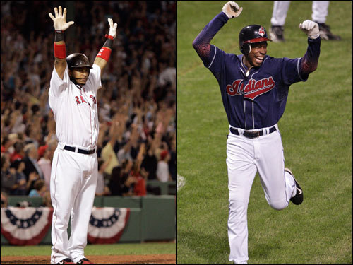 Manny Ramirez returned to form in the ALDS, posting a huge 1.740 OPS fueled by two home runs and five walks. He also loves batting against Cleveland, with a career OPS of 1.136 and 15 homers in just 49 games against his former team. Kenny Lofton had a sensational ALDS, hitting .375 with four RBIs in 16 at bats against the Yankees. He has a .305 batting average against the Sox in his career, and has stolen 47 bases against them, the most against any club. Lofton hit .296 with 23 stolen bases during the regular season.