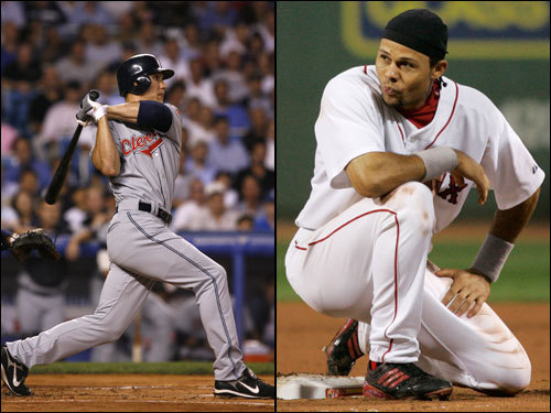 Coco Crisp 's postseason debut could have gone better; he got just two hits in 10 at bats in the ALDS, but he did drive in two runs. Against the Indians, his former team, he has hit .311 with two steals in 11 games. Grady Sizemore went 6 for 16 against the Yankees, with a triple and a home run. He has struggled against the Sox, though, hitting just .265 against Boston in his career, and a measly .231 at Fenway. Sizemore hit .277 with 24 homers and 33 stolen bases during the regular season.