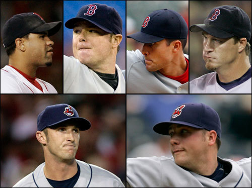 The Red Sox bullpen was outstanding in the ALDS, surrendering just one run in 6 1/3 innings of work. Manny Delcarmen and Javier Lopez both appeared, and neither allowed a baserunner. The Indians bullpen was excellent against the Yankees, and only gave up two earned runs (both in Game 4). Aaron Fultz and Jensen Lewis both appeared (Fultz allowed two unearned runs in Game 3).