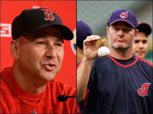 Terry Francona has a career mark of 15-12 against Cleveland, and the last time he had a team that went to the ALCS, they won the World Series, in case you had forgotten. Eric Wedge is 14-19 career against Boston, and he has never reached the playoffs before.