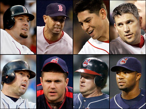 The Boston bench did not play a large role offensively in the ALDS, with Eric Hinske and Jacoby Ellsbury getting just three at bats between them. But Ellsbury could be a Dave Roberts-type difference-maker in the ALCS. The Indians bench supplied them with five hits against the Yankees, including two from old friend Trot Nixon, who could see some time against the righty-heavy Sox pitching staff.