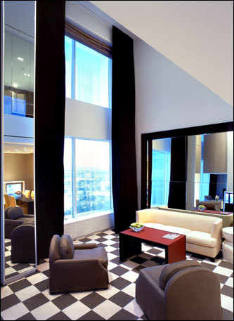 The uber-luxe Skyloft suites come complete with their own music butlers and priority seating at all of MGM Grand's restaurants and nightclubs.