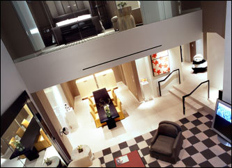 At the high-tech Skylofts at MGM Grand, the Diamonds Are Forever package is $20,000 per couple for a two-night stay.