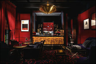 You'll feel like a high roller in the lounge of Joël Robuchon.