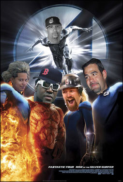 David Nickerson is pumped about the Red Sox' own Fantastic Four.
