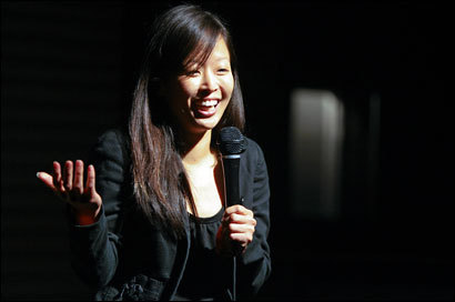 Esther Ku advises that is you can't connect with your audience, sometimes the best approach is to move on. 'Some audiences are just not right for you,' she says.