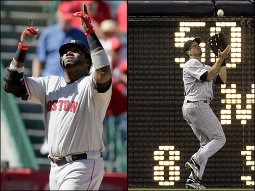 David Ortiz built upon his already huge playoff legend in the 2007 playoffs, with three homers and a 1.317 OPS. In three games at Coors Field in 2004, Big Papi hit .364 with a homer and five RBIs. Ryan Spilborghs will probably be the DH for the Rockies at Fenway; he hit 11 homers in 264 at bats for Colorado this season, and drove in 51 runs. Spilborghs has three hits in 10 at bats in the playoffs so far.