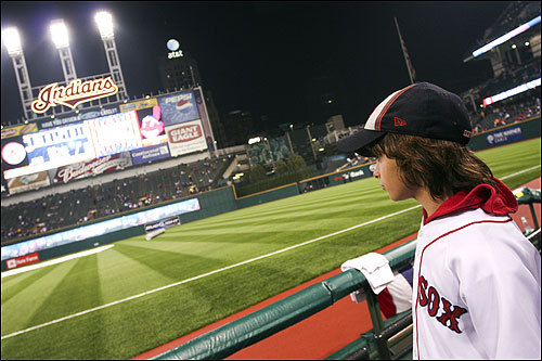 Jacob Barr of West Virginia surveyed the field before Tuesday's game.