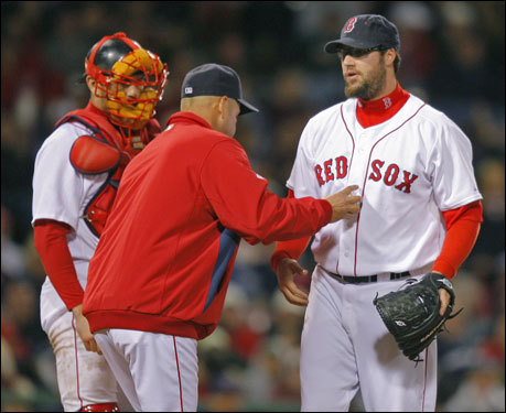 With no room for error, the Sox can't afford to give Gagne any more chances. They'd be wise to leave him on the bench for the remainder of the series.