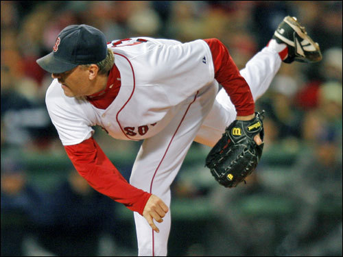 If the Sox survive Game 5 in Cleveland, it'll be back to Fenway for Game 6, where Curt Schilling will get a chance at redemption after his poor performance in Game 2. If the statistics are any indication, you can count on Schill. He is 8-2 with a 2.23 ERA for his career in the playoffs.