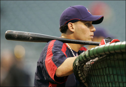 Cleveland's Asdrubal Cabrera watched his teammates hit.