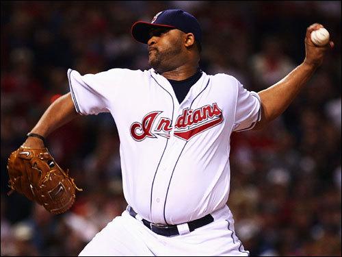 Indians starter C.C. Sabathia made the start for Cleveland.