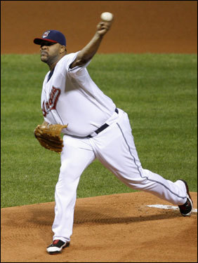 Sabathia was 1-1 in the 2007 postseason with an ERA over 10 coming into the game.