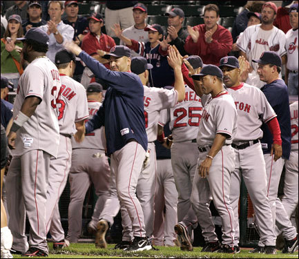 The Red Sox could breath easier knowing that they can win out at Cleveland.