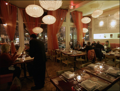 While you're in the South End, dine on Indian dishes at Mela.