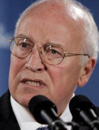 Vice President Dick Cheney warned Iran.