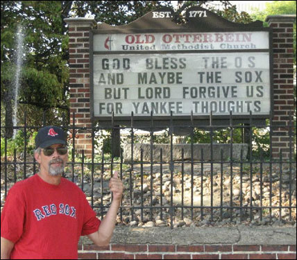 While in Baltimore for the early-September series, Ken Brostek spotted this lovely sign.