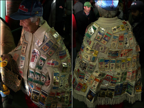 Foyle has saved every ticket stub from each World Series and All-Star game she attended...