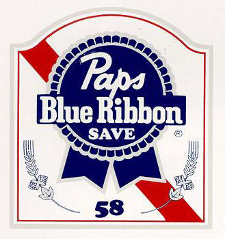 Ken Brostek of Middletown, Conn., will think of Papelbon when he throws back a cold PBR.