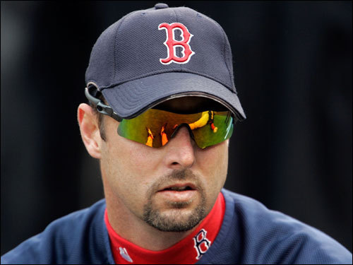 Red Sox pitcher Tim Wakefield was on the field before Game 3 of the World Series.