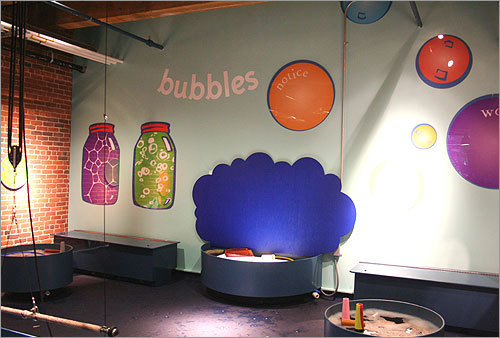 bubbles exhibit