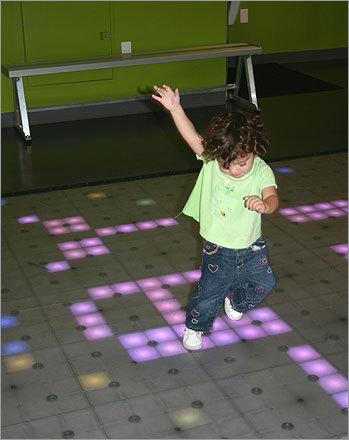 kid power dance floor