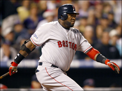 David Ortiz stroked an RBI single in the first inning. The hit scored Jacoby Ellsbury and gave the Red Sox a 1-0 lead.