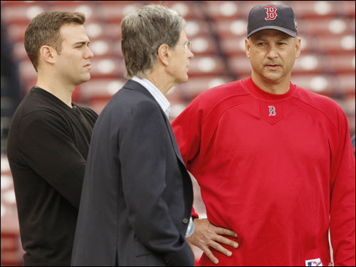 Red Sox executives, including ownership and GM Theo Epstein, are expected to gather today to discuss their offseason strategy for the world champion Red Sox. Let's take a look at some of the decisions on the table for Theo and Co. this offseason.