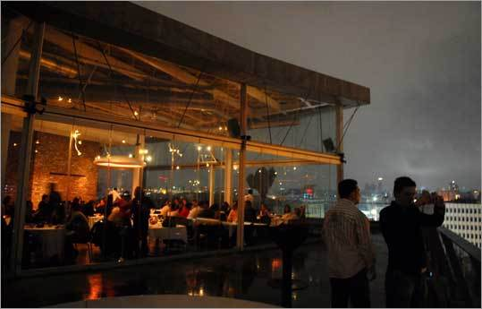 The restaurant 360 Istanbul reflects an increase in international design in Istanbul.
